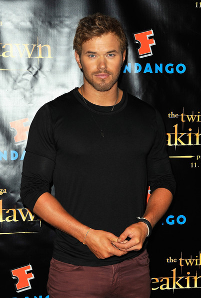 "Actor Kellan Lutz attends ""The Twilight Saga: Breaking Dawn Part 2"" VIP Comic-Con Celebration Sponsored by Fandango at Float in the Hard Rock Hotel on July 11, 2012 in San Diego, California."