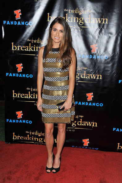 "Actress Nikki Reed attends ""The Twilight Saga: Breaking Dawn Part 2"" VIP Comic-Con Celebration Sponsored by Fandango at Float in the Hard Rock Hotel on July 11, 2012 in San Diego, California."