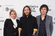 """Flora Fernandez Marengo, Juan Cabral and Chris Clark attend the """"Two/One"""" screening during the 2019 Tribeca Film Festival at SVA Theater on April 28, 2019 in New York City."""