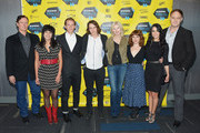 Actors Barry Tubb, Laurie Gallardo, James Landry Hebert, Skyy Moore, Beth Broderick, Ashley Rae Spillers, Elle LaMont and Jason Douglas attend the 'Two Step' premiere during 2014 SXSW Music, Film + Interactive Festival at the Topfer Theatre at ZACH on March 9, 2014 in Austin, Texas.