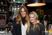 """Kelly Killoren Bensimon and Sea Louise Bensimon attend the """"Two Turns From Zero"""" Book Launch Event at The Regency Bar and Grill on March 8, 2017 in New York City."""