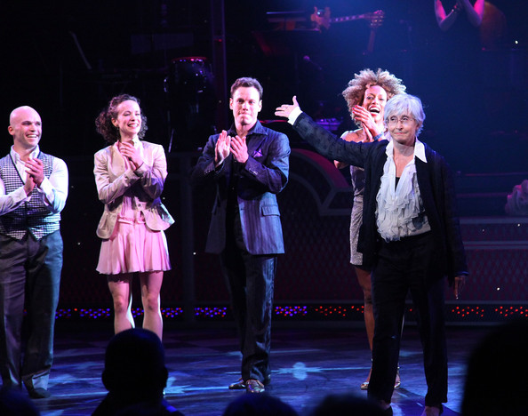 """Broadway Opening Of """"Come Fly Away"""" - Arrivals And Curtain Call"""