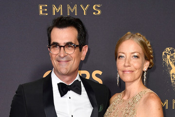 Ty Burrell Holly Burrell 69th Annual Primetime Emmy Awards - Arrivals
