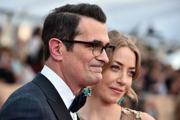 Ty Burrell Holly Burrell 22nd Annual Screen Actors Guild Awards - Red Carpet