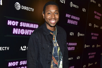"Ty Hickson Screening Of A24's ""Hot Summer Nights"" - Red Carpet"
