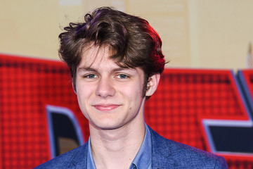 Ty Simpkins World Premiere Of Sony Pictures Animation And Marvel's 'Spider-Man: Into The Spider-Verse' - Red Carpet