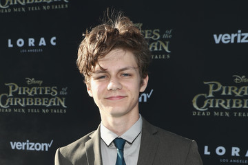 Ty Simpkins Premiere of Disney's andnd Jerry Bruckheimer Films' 'Pirates Of The Caribbean: Dead Men Tell No Tales'