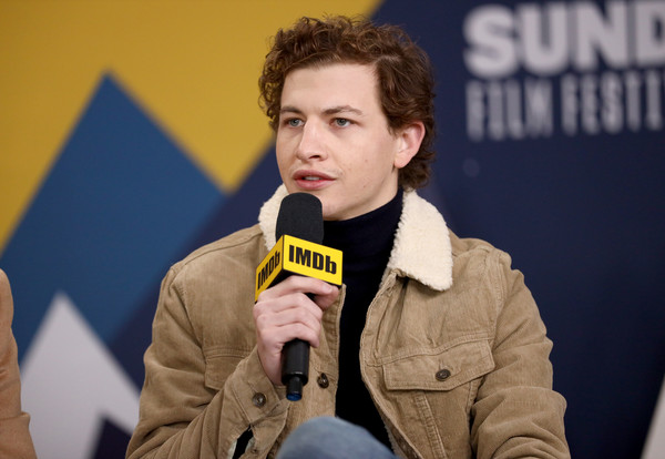The IMDb Studio At Acura Festival Village On Location At The 2019 Sundance Film Festival – Day 4 [the mountain,yellow,spokesperson,speech,event,tye sheridan,location,acura festival village,utah,park city,imdb studio at acura festival village on location,imdb studio,sundance film festival]