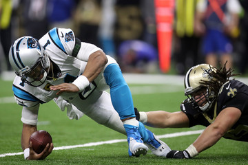 Tyeler Davison Wild Card Round - Carolina Panthers v New Orleans Saints