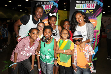 Tylen Jacob Williams 2014 BET Experience At L.A. LIVE - Fan Fest - AT&T, Geico, Poetic Jeans, Sneaker Con, Tennis, Xbox, Health And Wellness, Nickelodeon, Opening Concert, Centric Centrified