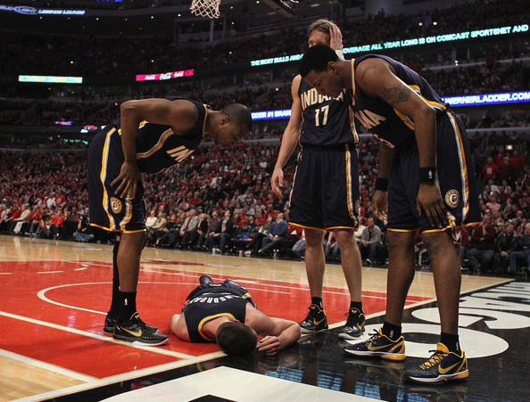 15818f9df562 Tyler Hansbrough and A.J. Price Photos Photos - Indiana Pacers v ...