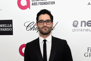 Tyler Hoechlin Arrivals at the Elton John AIDS Foundation Oscars Viewing Party — Part 3
