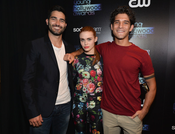 tyler hoechlin dylan obrien and tyler posey attend cw