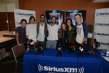 Tyler Hoechlin Holland Roden SiriusXM's Entertainment Weekly Radio Channel Broadcasts From Comic-Con 2014