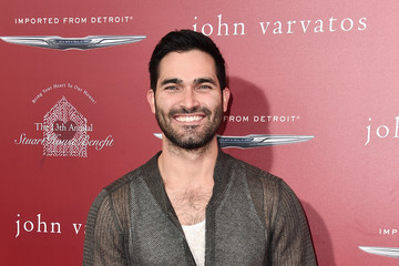 Tyler Hoechlin John Varvatos 13th Annual Stuart House Benefit Presented by Chrysler With Kids' Tent by Hasbro Studios - Arrivals