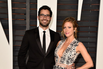 Tyler Hoechlin Arrivals at the Elton John AIDS Foundation Oscars Viewing Party — Part 5