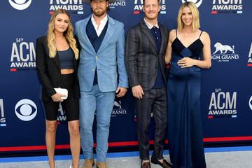 Tyler Hubbard Hayley Hubbard 54th Academy Of Country Music Awards - Arrivals