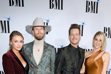 Tyler Hubbard Hayley Hubbard 66th Annual BMI Country Awards - Arrivals
