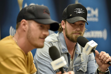 Tyler Hubbard SiriusXM's The Highway Channel Broadcasts Backstage Leading Up To The ACMs