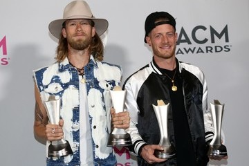 Tyler Hubbard 52nd Academy of Country Music Awards - Press Room