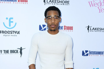Tyler James Williams L.A. Premiere Of Entertainment Studios Motion Pictures' 'The Wedding Year' - Arrivals