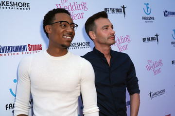 Tyler James Williams L.A. Premiere Of Entertainment Studios Motion Pictures' 'The Wedding Year' - Red Carpet