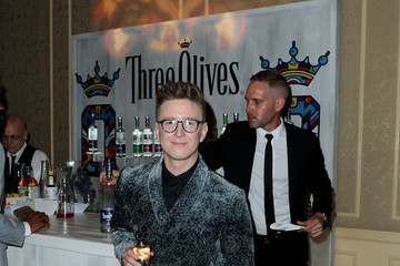 Tyler Oakley Tyler Oakley Toasts With Three Olives Vodka in Support of The Trevor Project at TrevorLIVE Gala