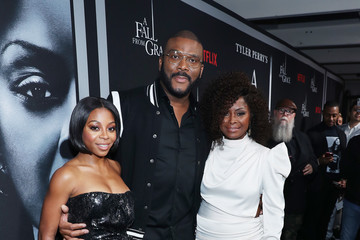 Tyler Perry Bresha Webb Netflix Premiere Tyler Perry's 'A Fall From Grace'