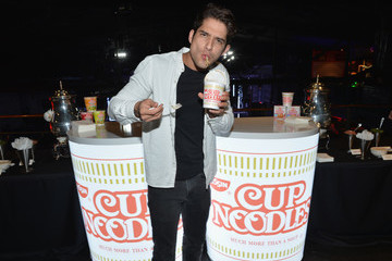 Tyler Posey Stars Attend the Nissin Cup Noodles Event
