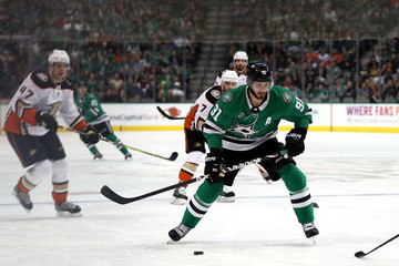 Tyler Seguin Anaheim Ducks vs. Dallas Stars