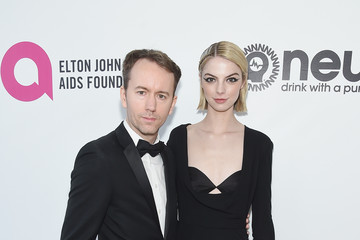 Tyler Shields Allie Evans 27th Annual Elton John AIDS Foundation Academy Awards Viewing Party Sponsored By IMDb And Neuro Drinks Celebrating EJAF And The 91st Academy Awards - Red Carpet