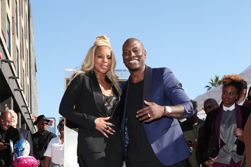 Tyrese Gibson Mary J. Blige Is Honored With a Star on the Hollywood Walk of Fame