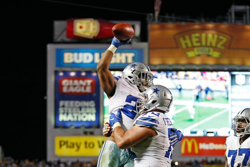 Tyron Smith Dallas Cowboys v Pittsburgh Steelers