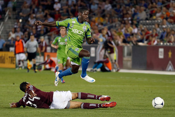 Tyrone Marshall Seattle Sounders v Colorado Rapids