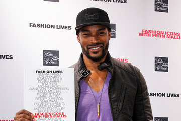 Tyson Beckford Fashion Lives Book Launch
