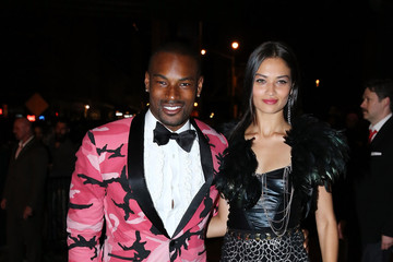 Tyson Beckford Shanina Shaik Met Gala After Party in NYC