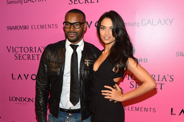 Tyson Beckford Shanina Shaik Samsung Galaxy Features Arrivals At The Official Victoria's Secret Fashion Show After Party