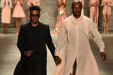 Tyson Beckford Mercedes-Benz Fashion Week Spring 2015 - Official Coverage - Best Of Runway Day 4