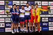 Mark Cavendish and Sir Bradley Wiggins Photos Photo