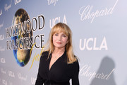 Rebecca De Mornay attends the UCLA IoES honors Barbra Streisand and Gisele Bundchen at the 2019 Hollywood for Science Gala on February 21, 2019 in Beverly Hills, California.