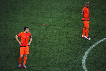Mark van Bommel UEFA EURO 2012 - Matchday 6 - Pictures Of The Day