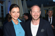 Susan Hoecke and Johann von Buelow attend the UFA FICTION Reception during the Munich Film Festival at Cafe Reitschule on June 29, 2015 in Munich, Germany.