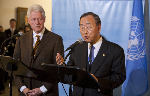 UN Secretary General Meets With Special Envoy To Haiti ...