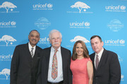 Ed Lloyd, Ted Turner, Suzanne Malveaux, and Barron Segar attend UNICEF's Evening for Children First to Honor Ted Turner on March 30, 2016 in Atlanta, Georgia.