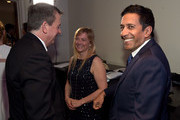 Senior Vice President of Development for the U.S. Fund for UNICEF Barron Segar, member of the U.S. Fund for UNICEF Southeast Regional Board Rebecca Gupta, and CNN Chief Medical Correspondent Dr. Sanjay Gupta attend UNICEF'S First Annual Evening for Children First at Summerour Studio on March 20, 2015 in Atlanta, Georgia.