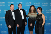 (L-R) Sr. VP of Development U.S. Fund for UNICEF Barron Segar (NYC), National Board Chair U.S. Fund for UNICEF Vince Hemmer (Glencoe), Vanessa Williams, Midwest Region Managing Director U.S. Fund for UNICEF Casey Marsh (Chicago) attend the UNICEF Hope Gala on April 9, 2016 in Chicago, Illinois.