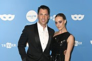 Maksim Chmerkovskiy and Peta Murgatroyd attend the UNICEF Masquerade Ball at Kimpton La Peer Hotel on October 26, 2019 in West Hollywood, California.