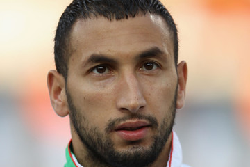 Nadir Belhadj USA v Algeria: Group C - 2010 FIFA World Cup