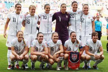 The Best Photos of the U.S. Women's National Soccer Team