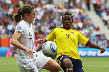 Carmen Rodallega USA v Colombia: Group C - FIFA Women's World Cup 2011